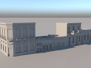 3D buildings buenos aires model