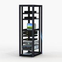 server rack b 3D model