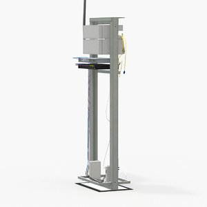 server rack e 3D model
