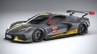 Chevrolet Corvette C8.R racing 2020