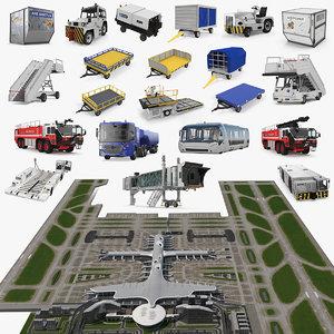 3D airport big model