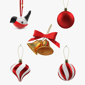 christmas decoration toy 2 3D model