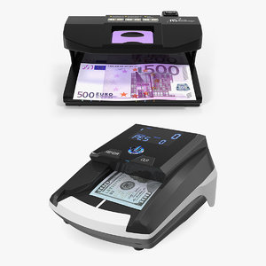 3D currency detector model