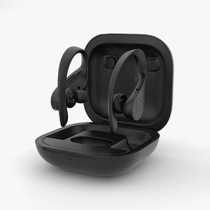 3D beats powerbeats pro