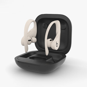 3D model beats powerbeats pro