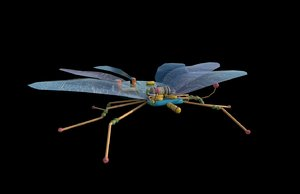 3D robotic spy bug model