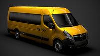 opel movano l4h2 minibus model