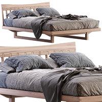 bam wood bed 3D model