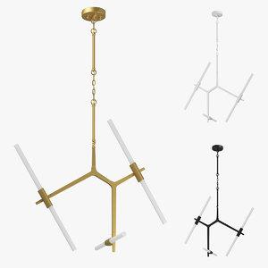 3D 74206x struttura lightstar chandelier
