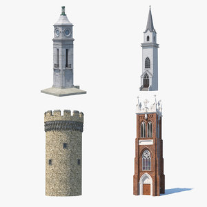 towers 2 3D