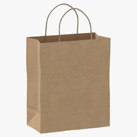 3D recycled paper bags 01