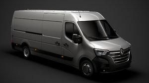 renault master l4h2 van model