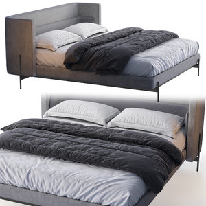 busnelli bed yume 3D model