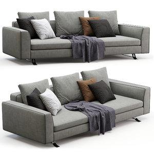 3D busnelli sofa burton