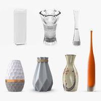 vases 5 modeled 3D model