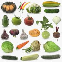 vegetables 2 3D model