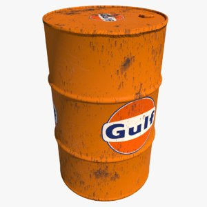 barrel gulf oil model