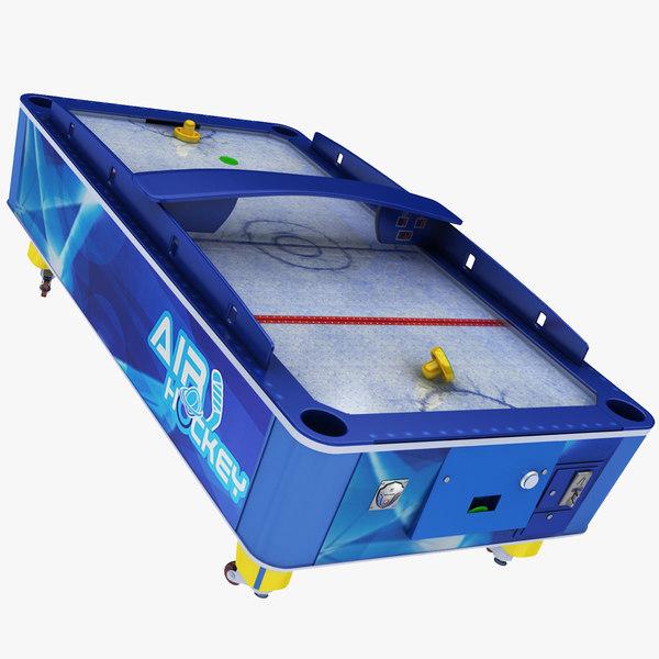 air hockey table model