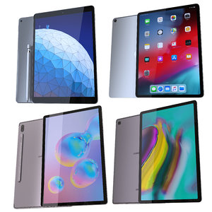 samsung apple tablets tab 3D