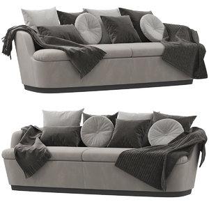3D orla cappellini sofa model