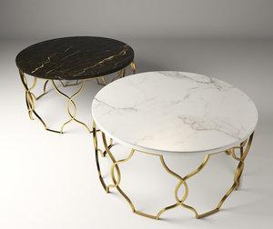 table indoor steel 3D model