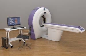 ct machine brivo ct385 3D