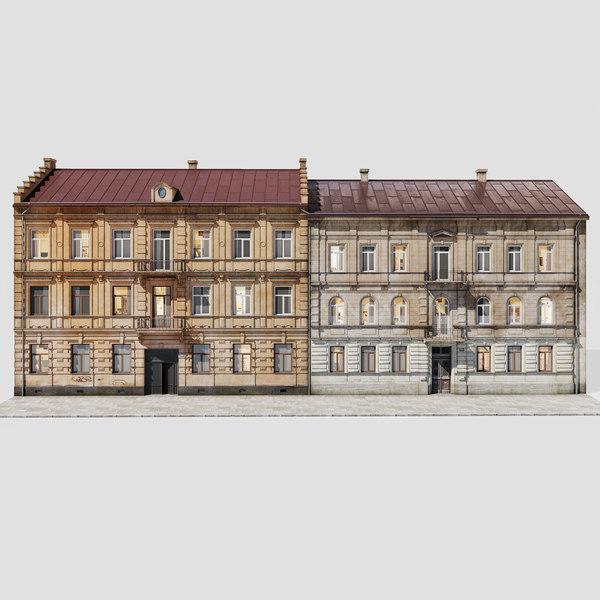 3D model residential buildings