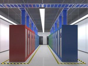 computer server room 1 3D