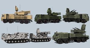 3D russian adms pantsir-s1 model