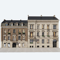 residential buildings 3D
