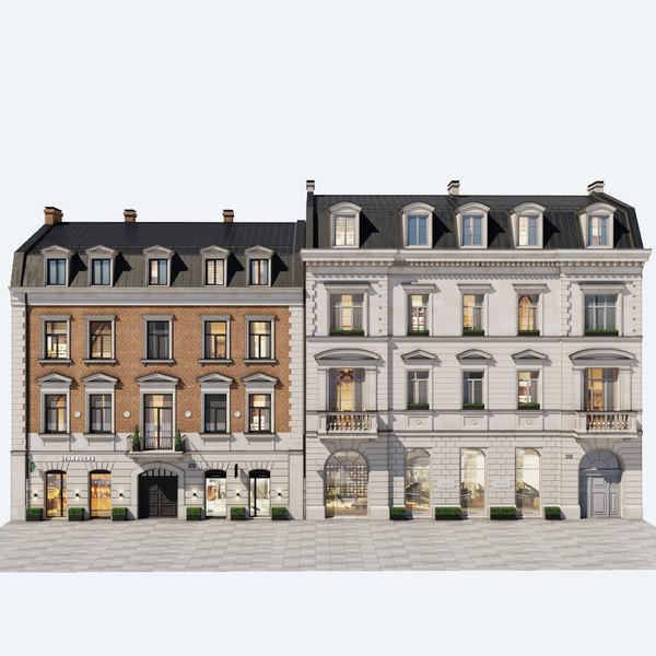 residential buildings 1 3D