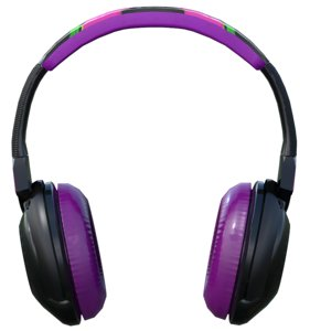 headphone purple fox 3D model