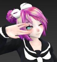 japan japanese student 3D
