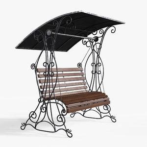 swing bench model