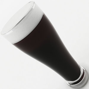 tall glass beer model