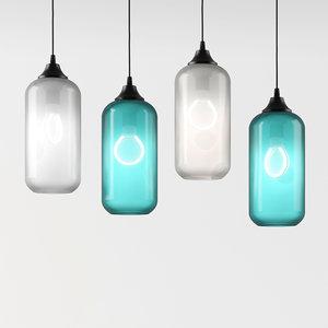 3D niche lighting model