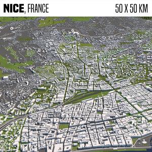 3D france nice model