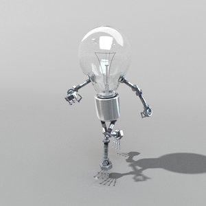 3D model idea lamp