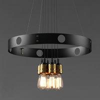 vintage loft light 3D model