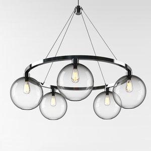 niche chandelier sola-36 3D model
