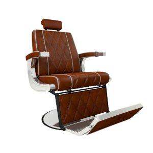 3D barber chair model