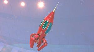 vehicles spacecraft rocket 3D model