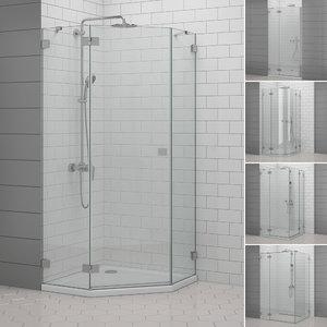 cabin showers radaway | 3D model