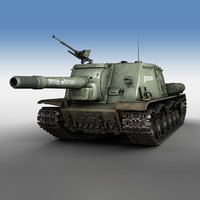 isu-152 - heavy 3D model