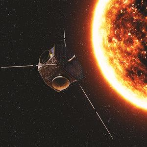 3D star satellite