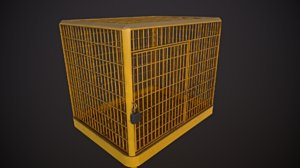 iron cage - yellow 3D