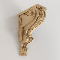 3D model carved console | Kr-030