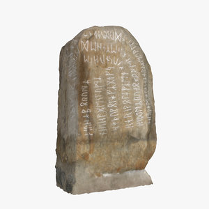 runestone viking age 3D model