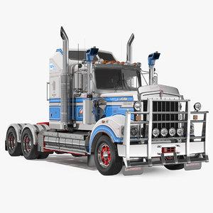 truck t900 legend rigged 3D model