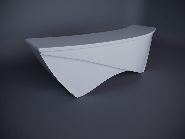 3D reception model